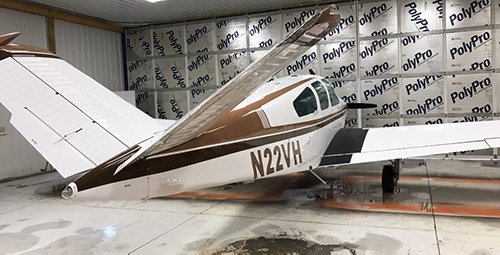 Before Aircraft Paint Job